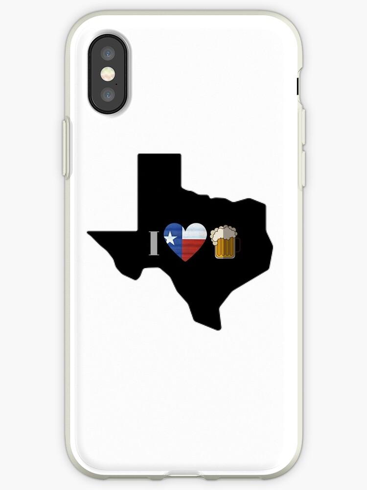 Texas Flag Beer by texashandmade