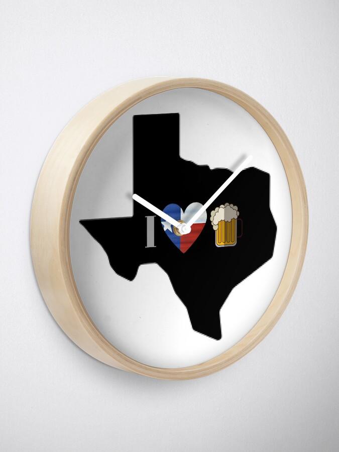 Alternate view of Texas Flag Beer Clock