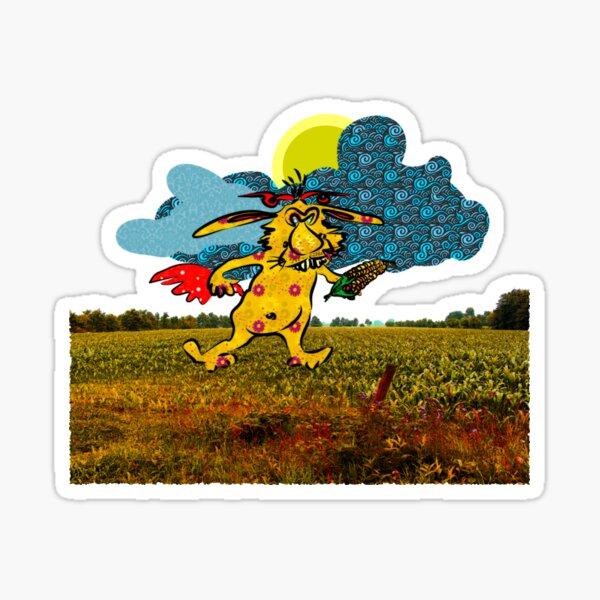 The Corn Thief Sticker