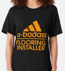 FLOORING INSTALLER BEST COLLECTION 2017 Slim Fit T-Shirt
