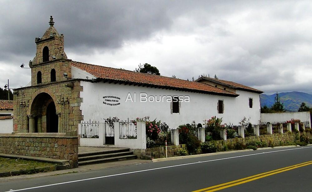 Oldest Church In Ecuador est 1534 by Al Bourassa