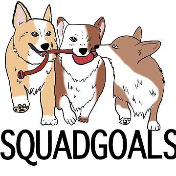 Squad Goals by ketchambr