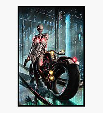 Cyberpunk Painting 065 Photographic Print