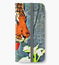 SIBERIAN TIGER DIGITAL PAINTING iPhone Wallet/Case/Skin