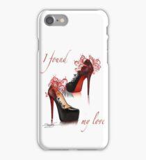 I found my love iPhone Case/Skin