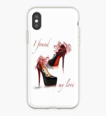 I found my love iPhone Case