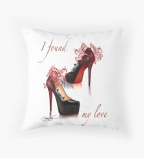 I found my love Throw Pillow