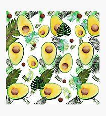 tropical avocado Photographic Print
