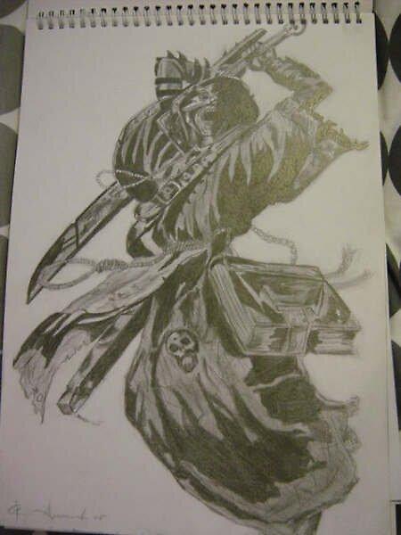 Black & White sketch by Ammaarah