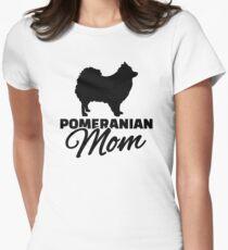 Camiseta entallada para mujer Mamá de Pomerania