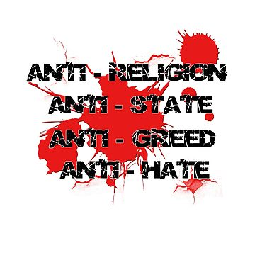 Anti - Punk Rock Slogan by PunkGrandad