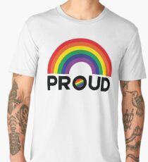 Rainbow Proud Men's Premium T-Shirt
