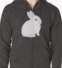 Snow Bunny Zipped Hoodie