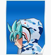 Goku SSB Bape Poster