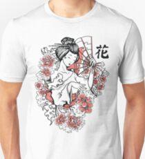 Geisha Fan Unisex T-Shirt
