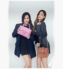 Blackpink - Jennie and Jisoo Poster