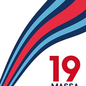 Williams Martini Racing F1 Massa 19 by VVdesigns