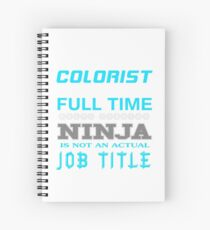 COLORIST BEST DESIGN 2017 Spiral Notebook