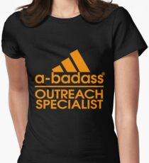 OUTREACH SPECIALIST BEST COLLECTION 2017 Women's Fitted T-Shirt
