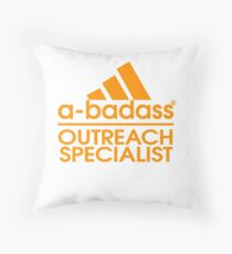 OUTREACH SPECIALIST BEST COLLECTION 2017 Throw Pillow