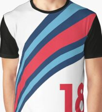 Williams Martini Racing F1 Stroll 18 Graphic T-Shirt