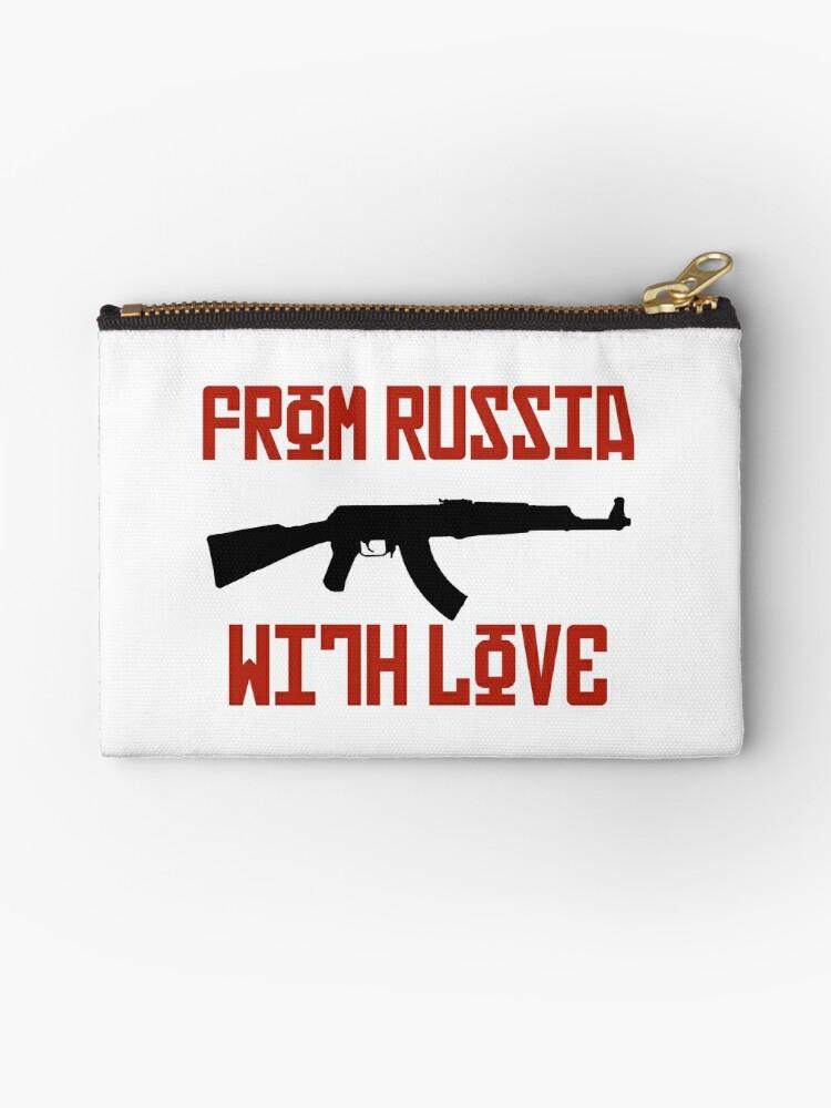 Russia Love AK 47 Gangster Kalashnikov Bond By GarciaPayan
