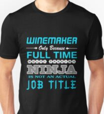 WINEMAKER BEST DESIGN 2017 Unisex T-Shirt