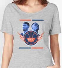 Russell Westbrook and Paul George Women's Relaxed Fit T-Shirt
