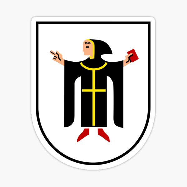 München Wappen Sticker