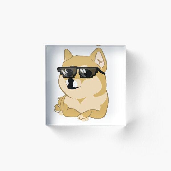 Doge With It Stuff Acrylic Block