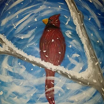 Winter Cardinal Jill-J by Jill-J