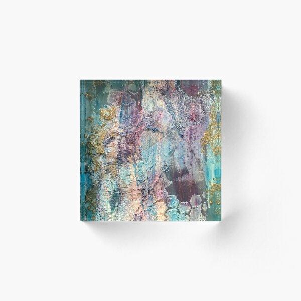 """Down Deep"" Acrylic Block"