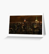 The empire state building, esb. Greeting Card