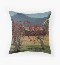 Keekorok Lodge Throw Pillow