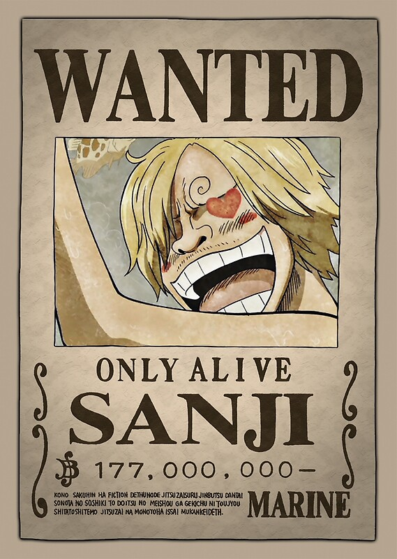 one piece usopp wanted poster. Black Bedroom Furniture Sets. Home Design Ideas