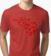 Sasha Roses So Emotional Tri-blend T-Shirt