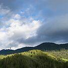 Clouds and Shadows - Rhodope Mountain Range in Bulgaria by Georgia Mizuleva