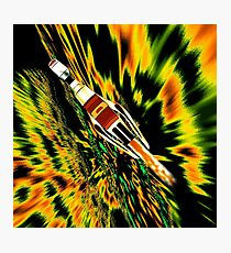 Combination Galactic Cruiser/Fighter Photographic Print