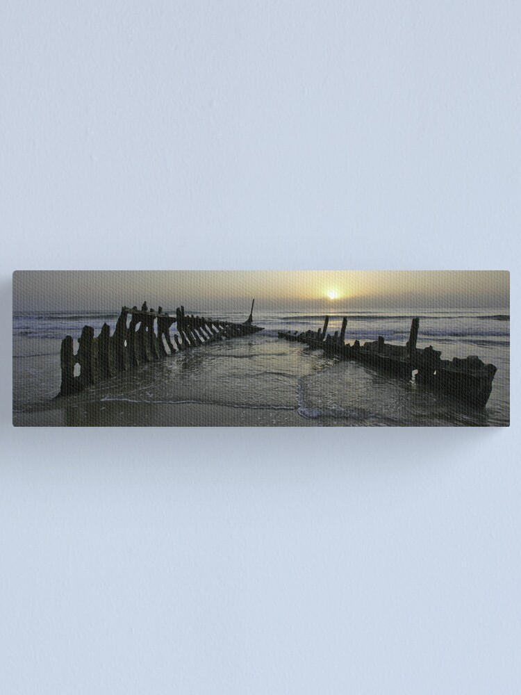 Alternate view of SS Dicky at dawn Canvas Print