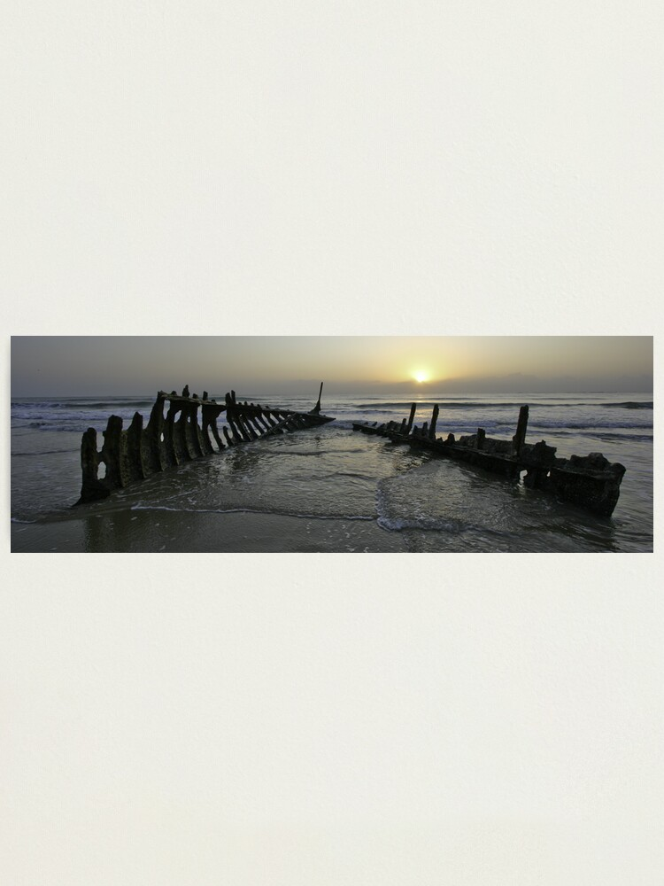 Alternate view of SS Dicky at dawn Photographic Print
