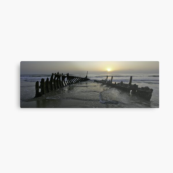 SS Dicky at dawn Metal Print