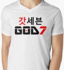 ♫♥I Love GOD7-KPop Forever♥♪ Men's V-Neck T-Shirt