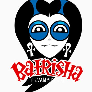 """Batrisha the Vampire Girl, by Dillon Naylor. Design number 1: """"Head"""", hosted by JasonTowers"""