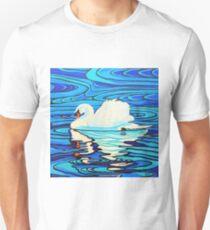 Swan Lake 4 - Ripples (edit) T-Shirt