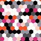 Hex - Flame Orange/Pink Yarrow by PlanetNine