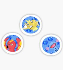 Water Pokemon Stickers Sticker