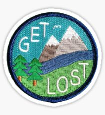 Get Lost patch Sticker
