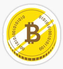 Bitcoin sticker Sticker
