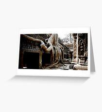 Temples of Angkor - Cambodia Greeting Card