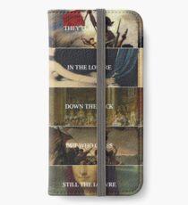 Der Louvre iPhone Flip-Case/Hülle/Klebefolie